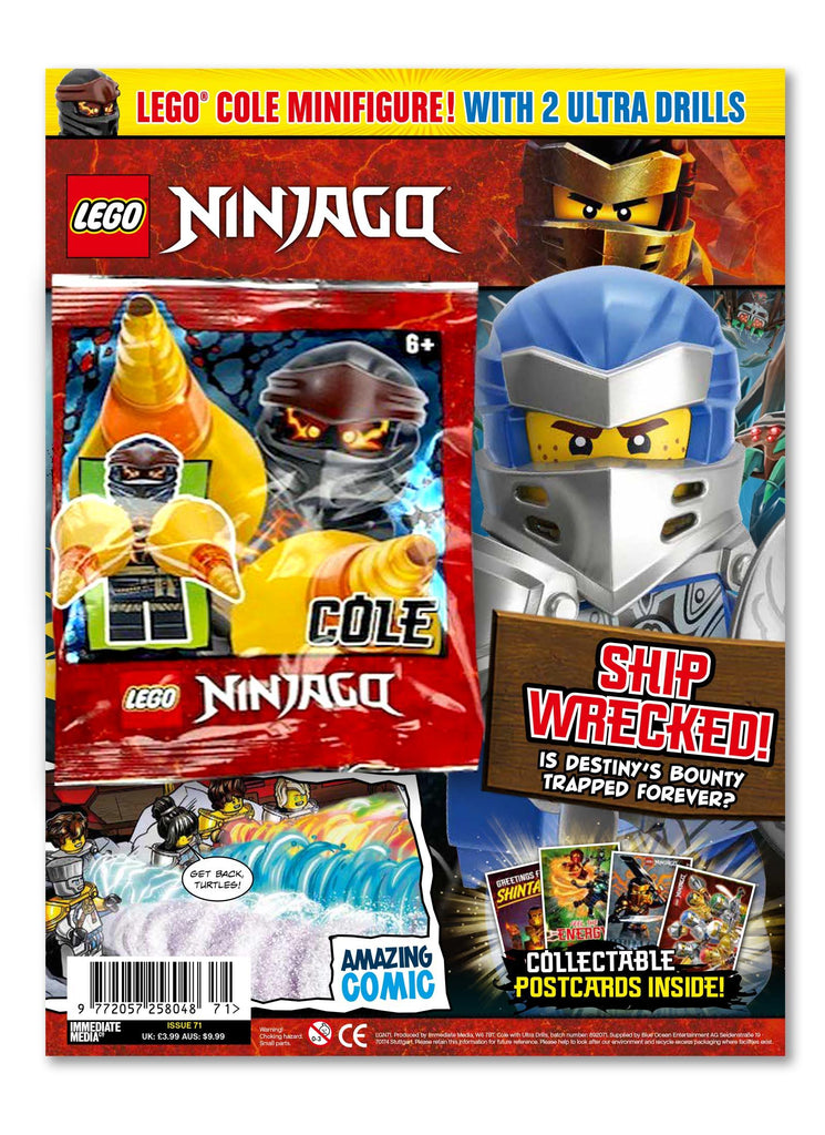 LEGO Ninjago Magazine Issue 71 Magazine 5 Minute Fun Shop