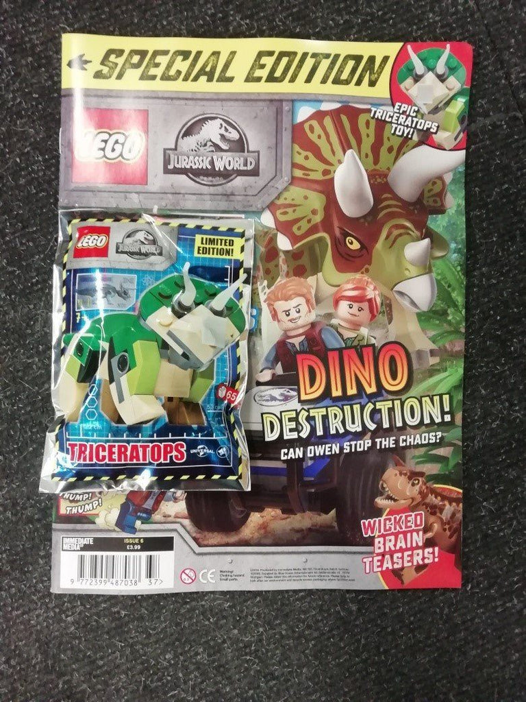 LEGO Specials Jurassic World Magazine Issue 6 Magazine 5 Minute Fun Shop