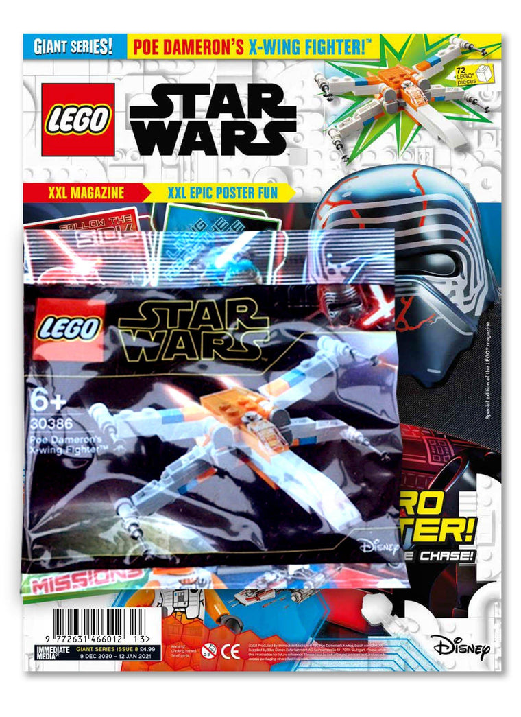 LEGO Star Wars Giant Magazine #8 Magazine 5 Minute Fun Shop