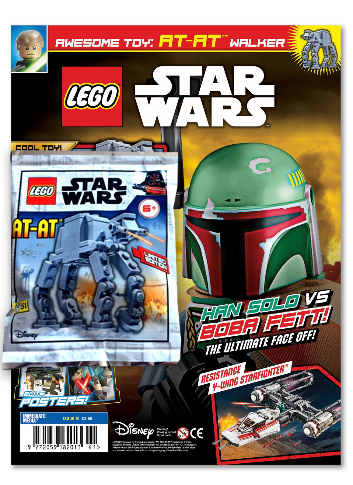 LEGO Star Wars Magazine Issue 61 - Gifted Magazine 5 Minute Fun Shop