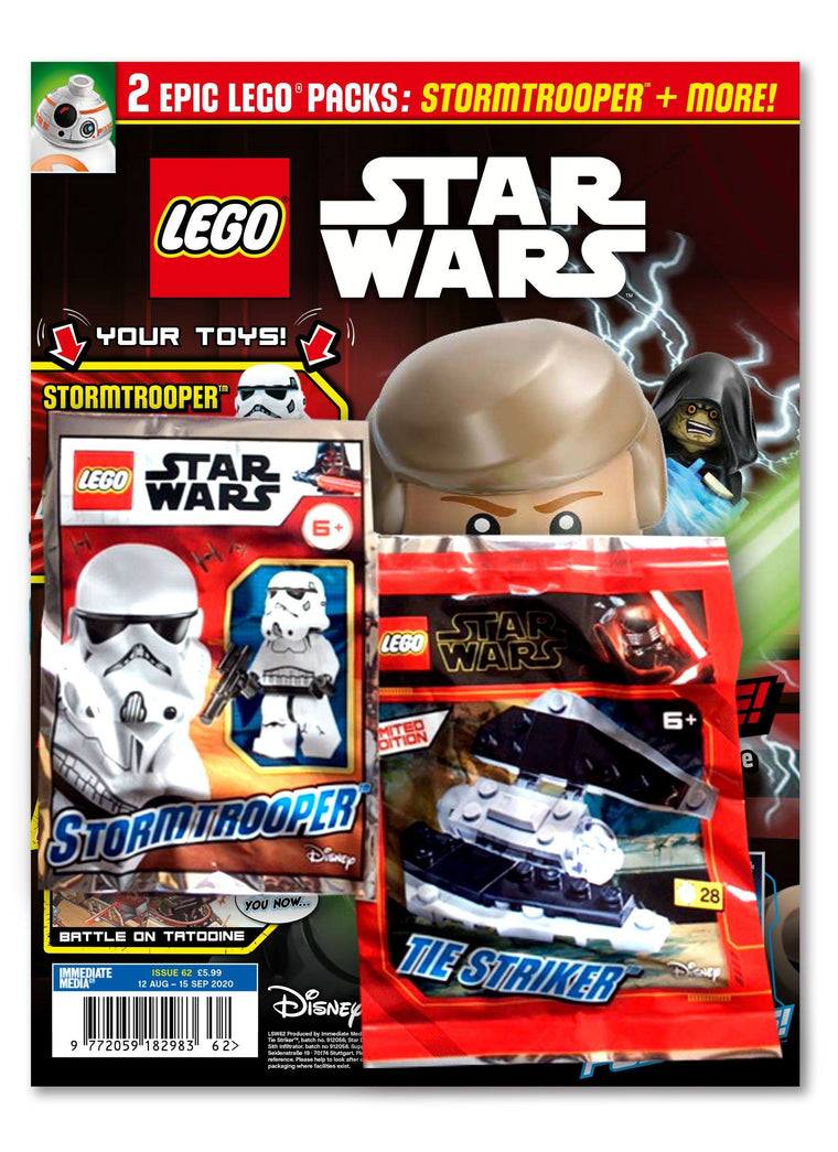 LEGO Star Wars Magazine Issue 62 - Gifted Magazine 5 Minute Fun Shop