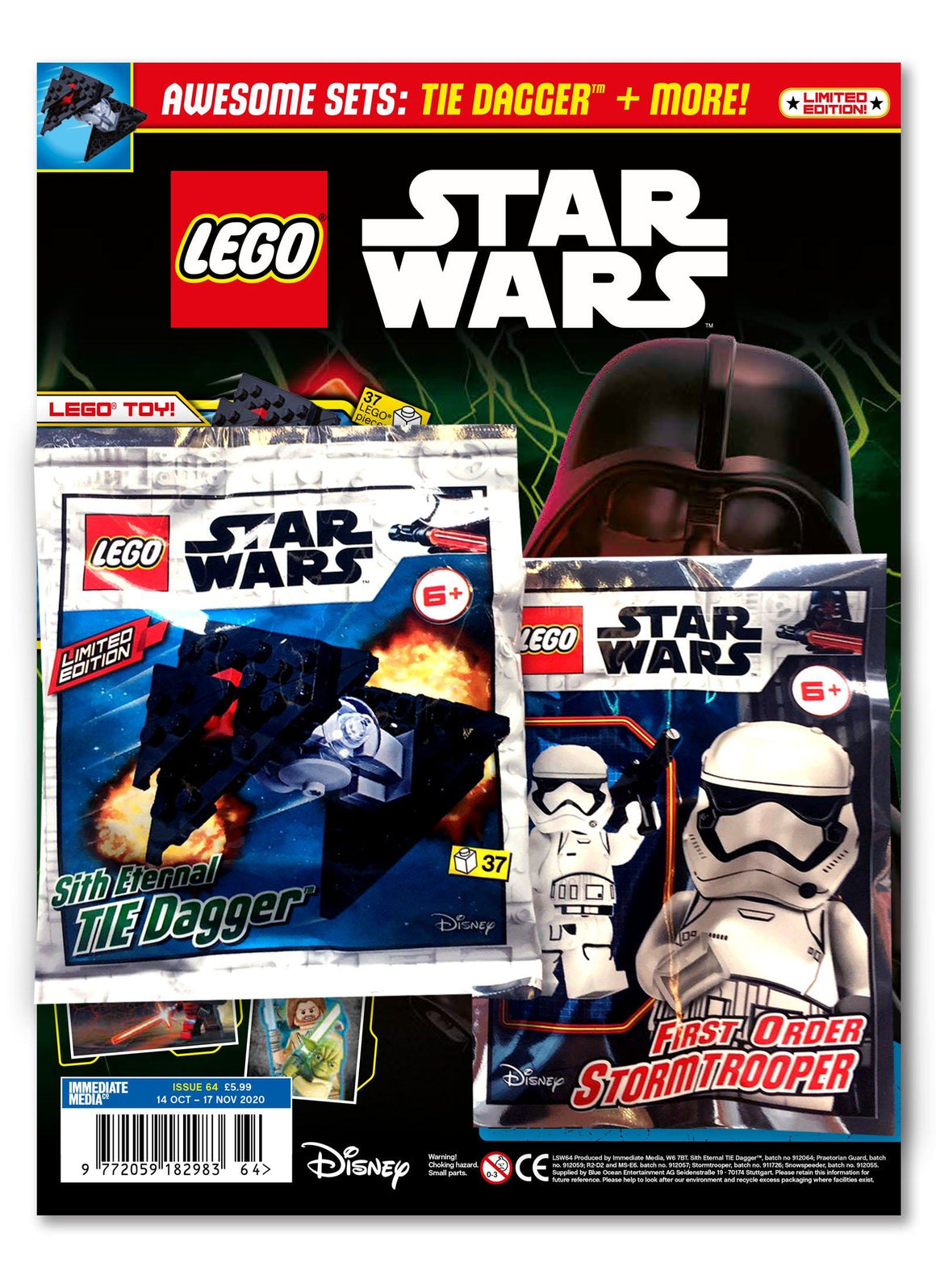 LEGO Star Wars Magazine Issue 64 - Gifted Magazine 5 Minute Fun Shop