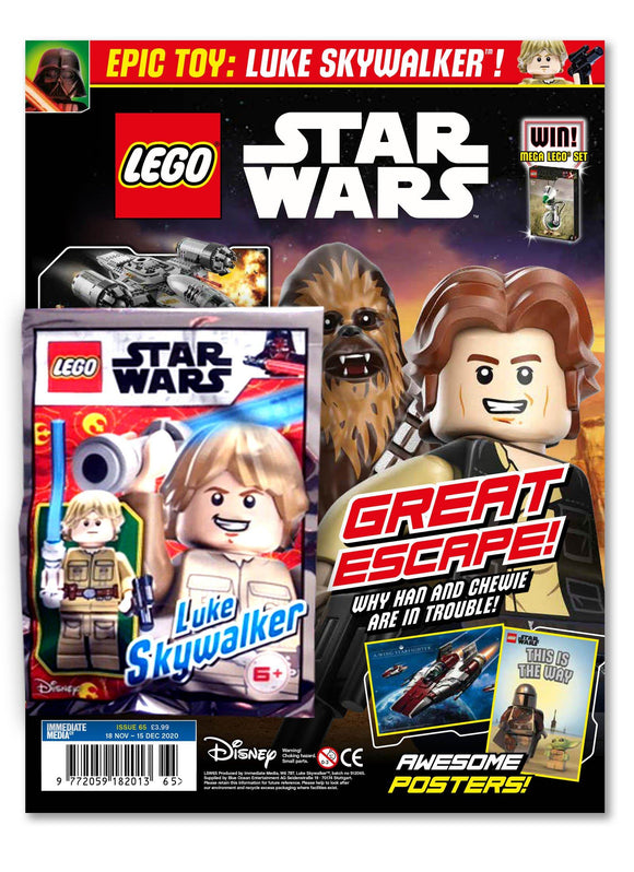 LEGO Star Wars Magazine Issue 65 - Gifted Magazine 5 Minute Fun Shop