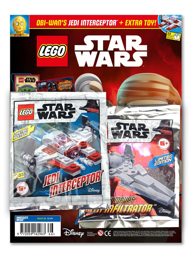 LEGO Star Wars Magazine Issue 66 - Gifted Magazine 5 Minute Fun Shop