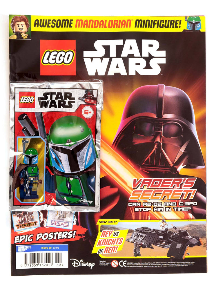 LEGO Star Wars Magazine Issue 68 - Gifted Magazine 5 Minute Fun Shop
