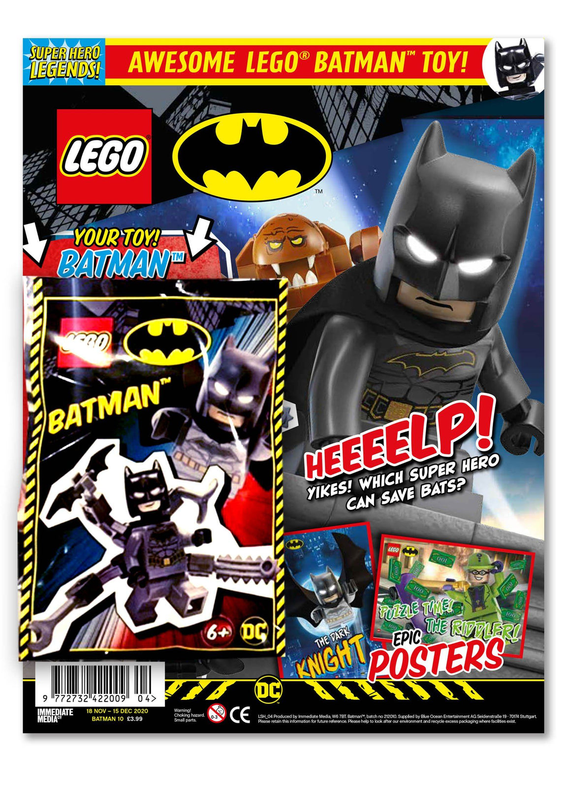 LEGO Superhero Legends Issue 4 - Batman Magazine 5 Minute Fun Shop