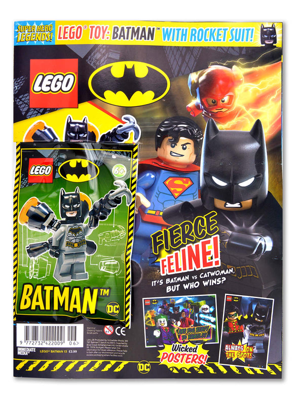 LEGO Superhero Legends Issue 6 - Batman Magazine 5 Minute Fun Shop