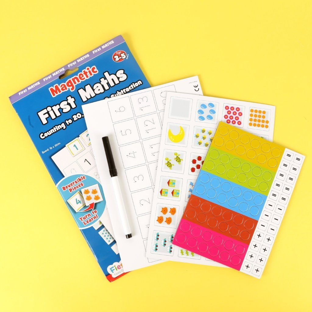 Magnetic First Maths Magnets Fiesta Crafts