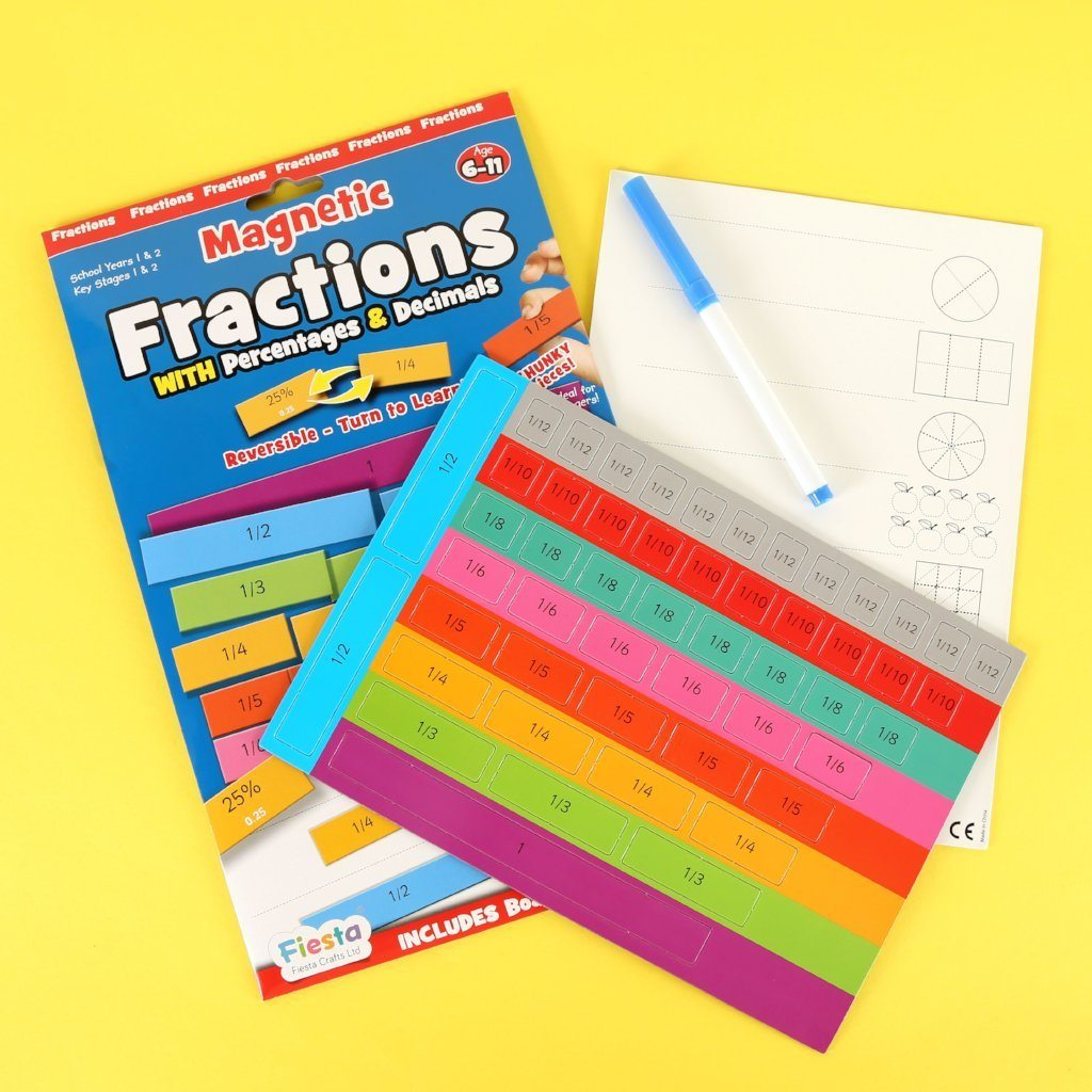 Magnetic Fractions Magnets Fiesta Crafts