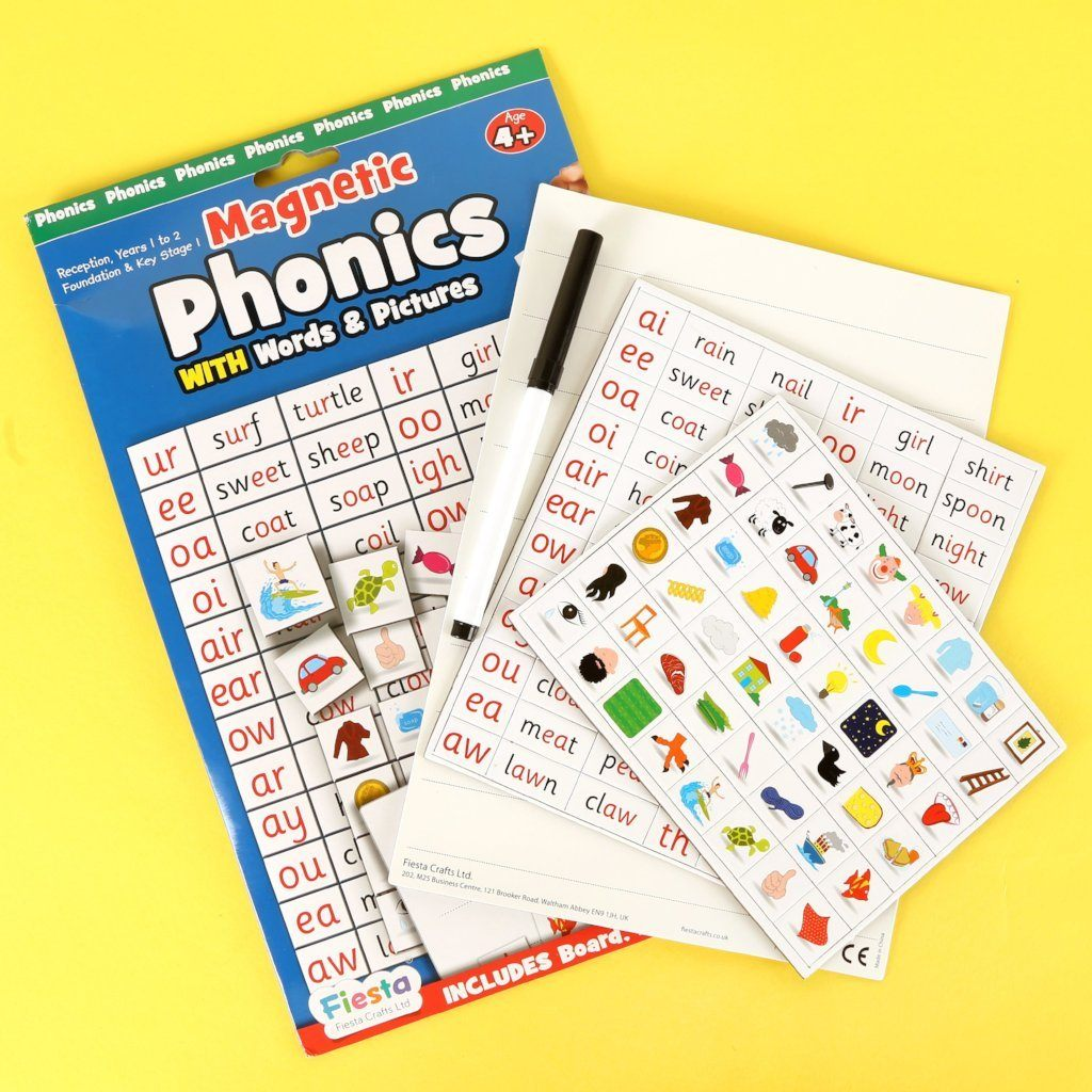 Magnetic Phonics Magnets Fiesta Crafts