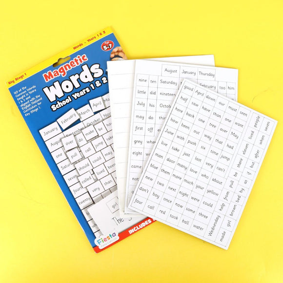 Magnetic Words Years 1 & 2 Magnets Fiesta Crafts