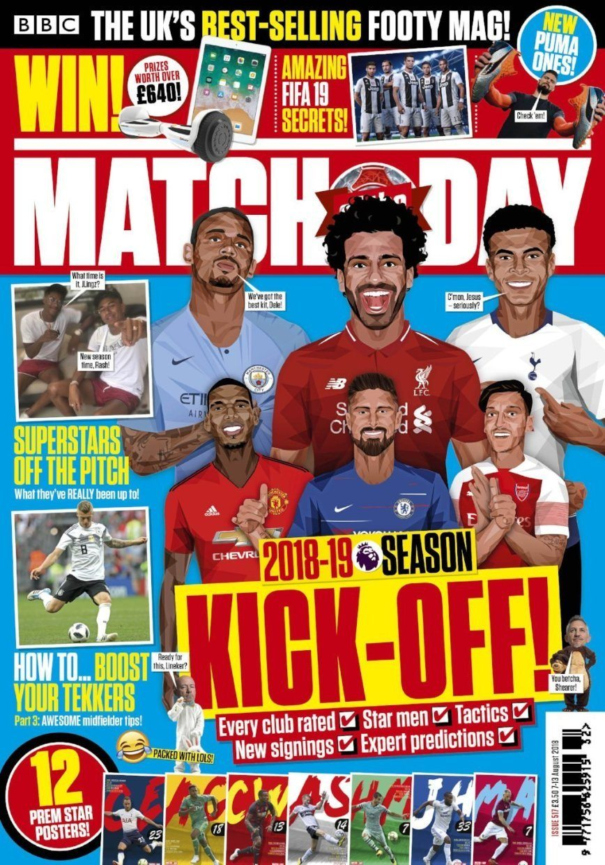 Match of the Day Magazine Subscription Magazine IMC New Stock