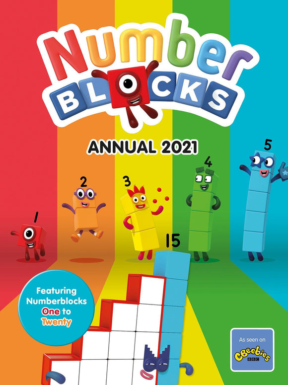 Numberblocks Annual Book 2021 Book Sweet Cherry Publishing