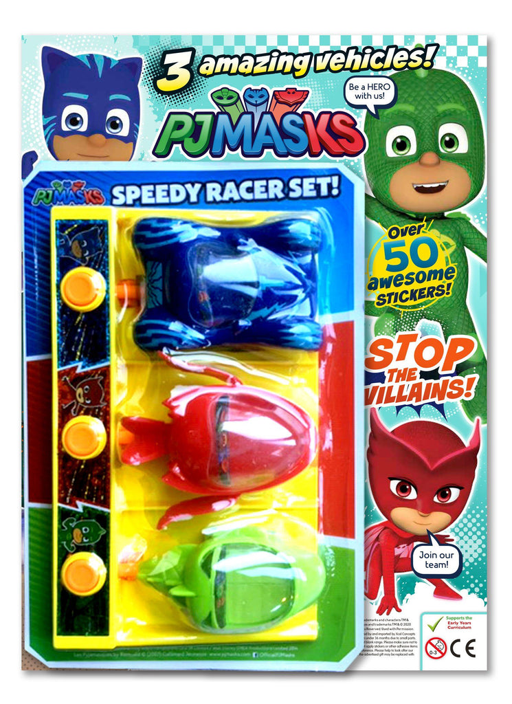 PJ MASKS MAGAZINE ISSUE 39 GIFTED Magazine 5 Minute Fun Shop