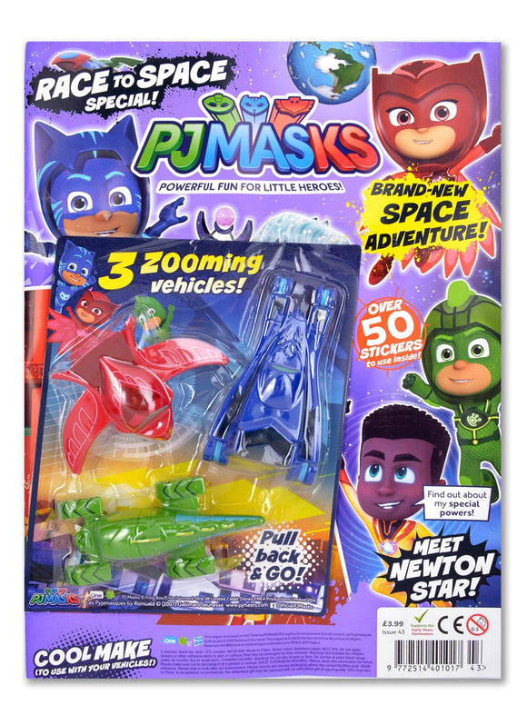 PJ MASKS MAGAZINE ISSUE 43 GIFTED Magazine 5 Minute Fun Shop