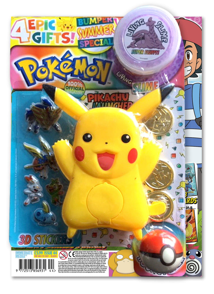 Pokemon Magazine Issue 44 Magazine 5 Minute Fun Shop