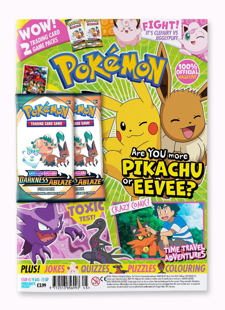 Pokemon Magazine Issue 45 Magazine 5 Minute Fun Shop