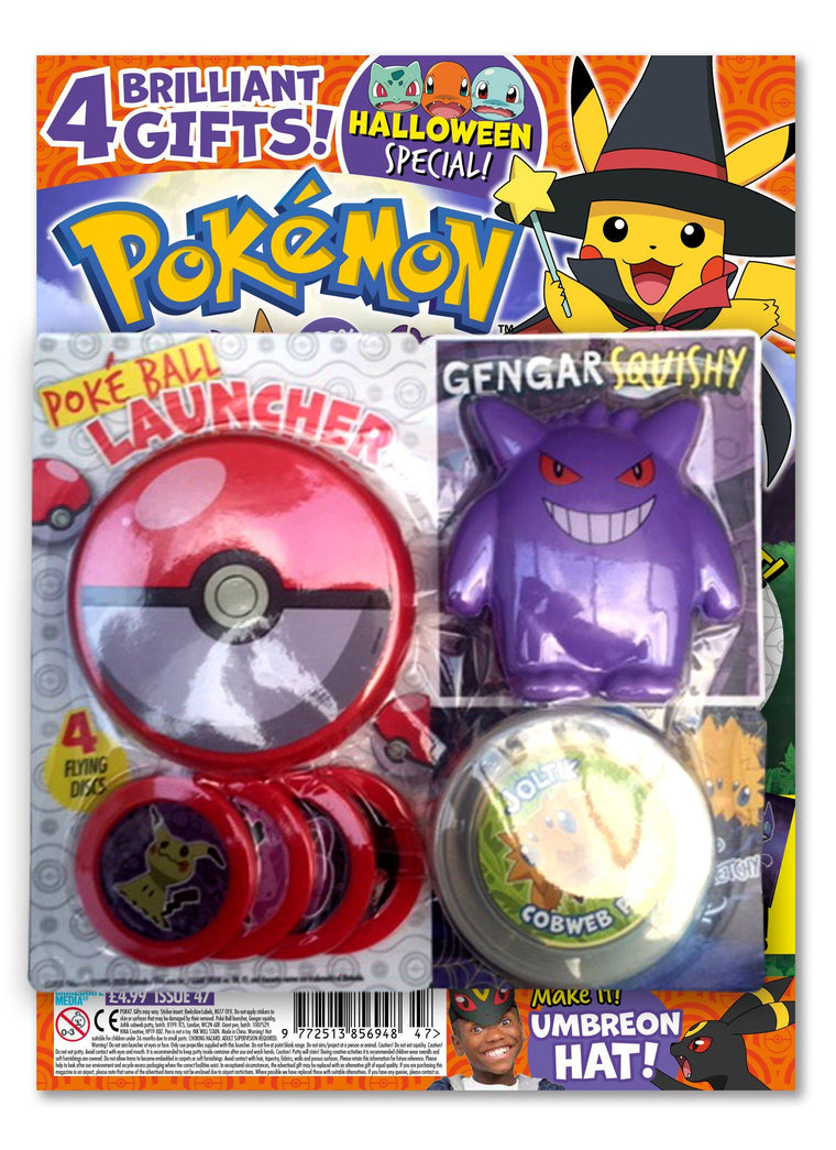 Pokemon Magazine Issue 47 Magazine 5 Minute Fun Shop