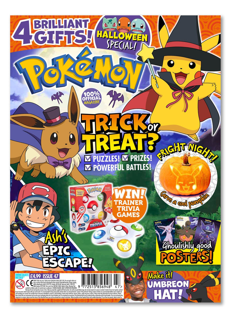 Pokemon Magazine Issue 47 - Ungifted Magazine 5 Minute Fun Shop