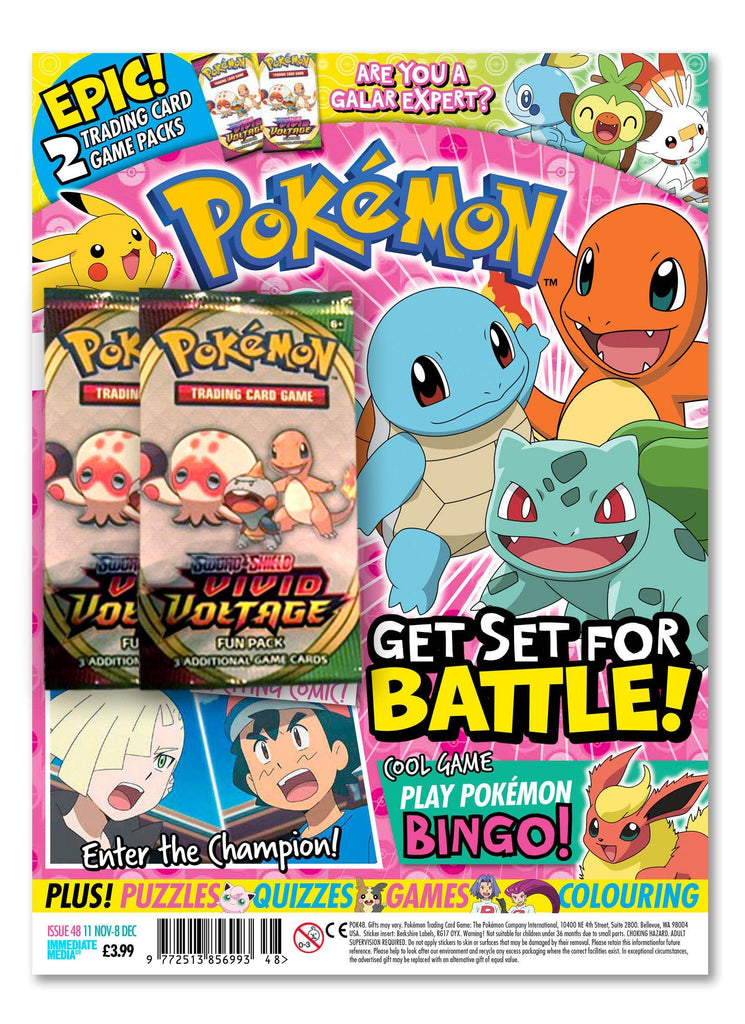 Pokemon Magazine Issue 48 Magazine 5 Minute Fun Shop