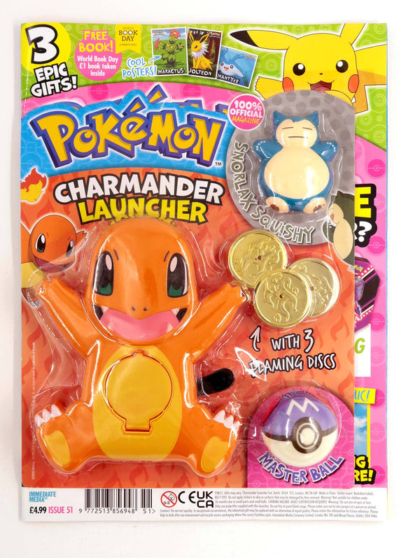 Pokemon Magazine Issue 51 Magazine 5 Minute Fun Shop