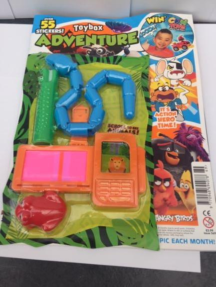 Toybox Magazine - Issue 369 Magazine 5 Minute Fun Shop
