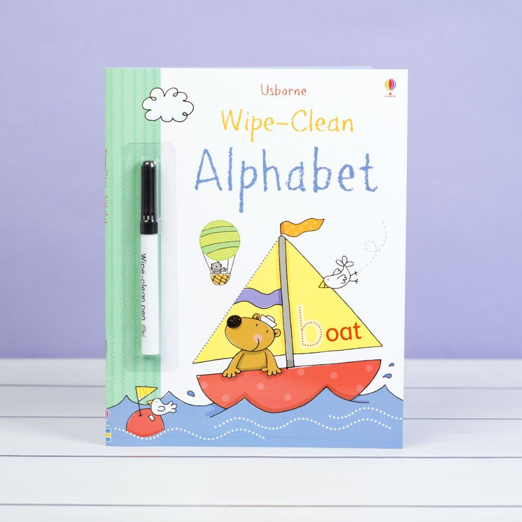 Wipe Clean Alphabet Book Book Allsorted
