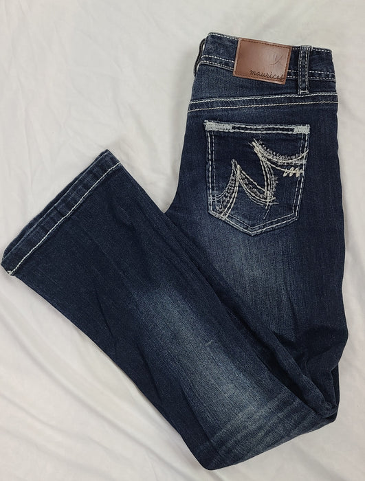 Maurice's blue jeans 1/2 X Short