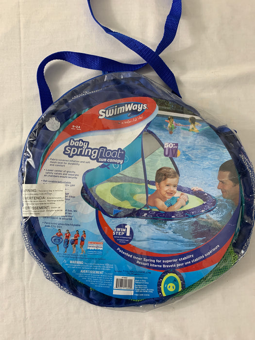 Swim Way Baby Spring Float sun canopy
