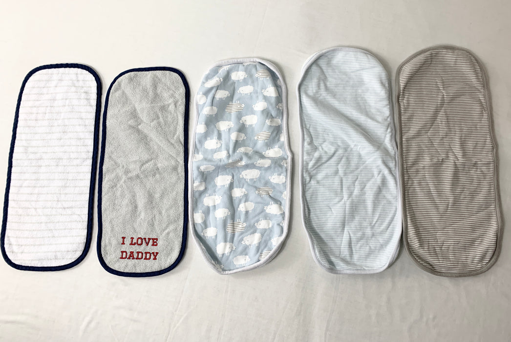 5 piece Burping Pads for Baby