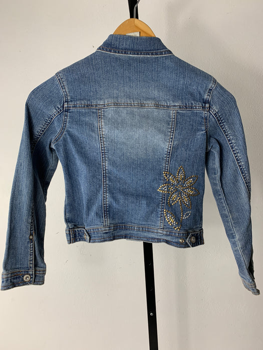 Limited Too Girls Jean Jacket Size 6-7