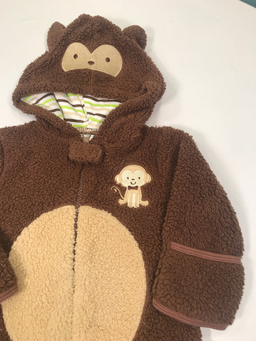 Baby Gear Monkey Design Fleece Outfit for Baby Size 0-3M