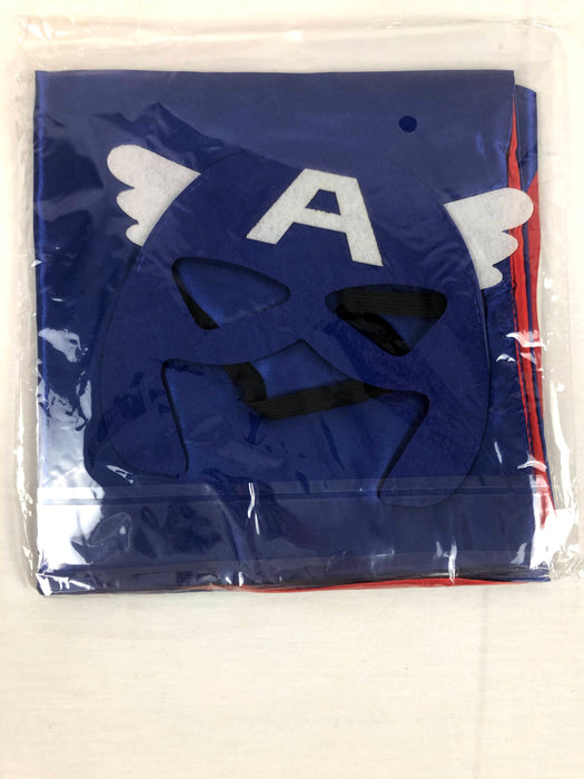 New Captain America Cape and Mask Costume