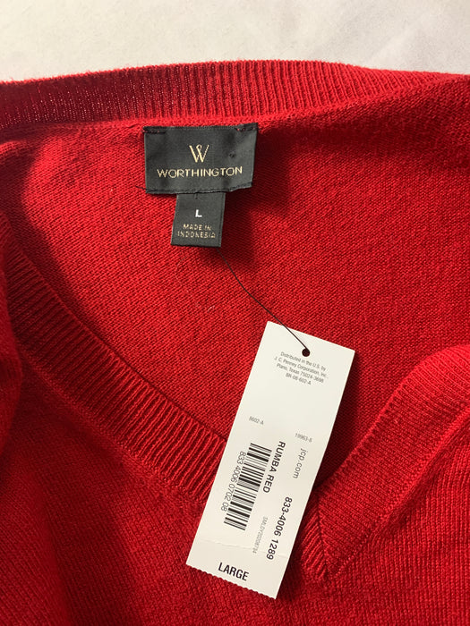 NWT Worthington Sweater Size Large
