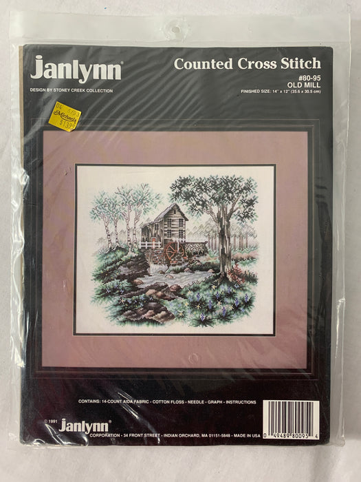 NWT Janlynn Counted Cross Stitch
