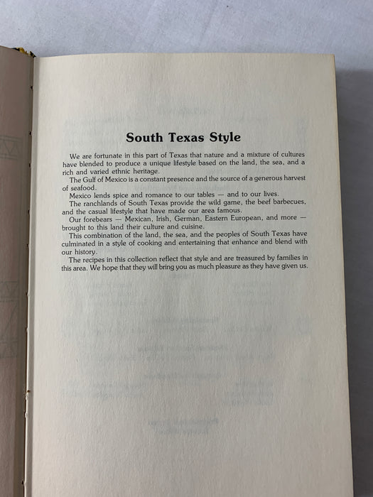 Delicioso Cooking South Texas Style Cookbook