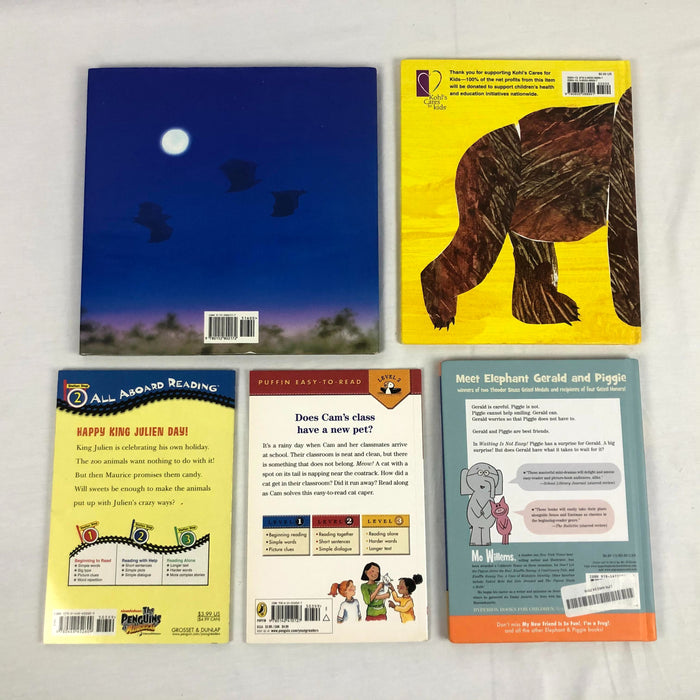 5 Piece Kids Book Bundle