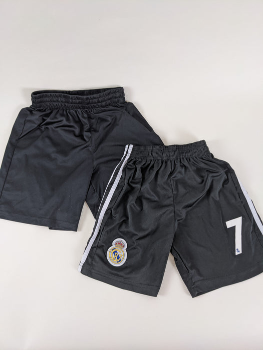 2pc. Bundle Real Madrid Soccer Shorts Size S