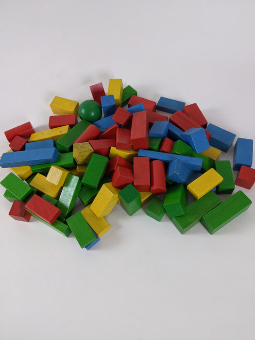 Wooden blocks kids toys