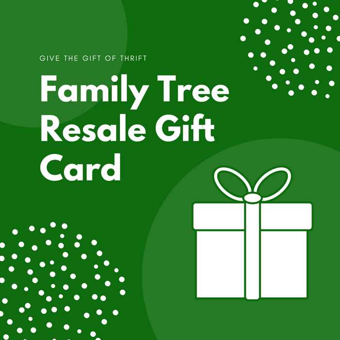 Family Tree Resale Gift Card