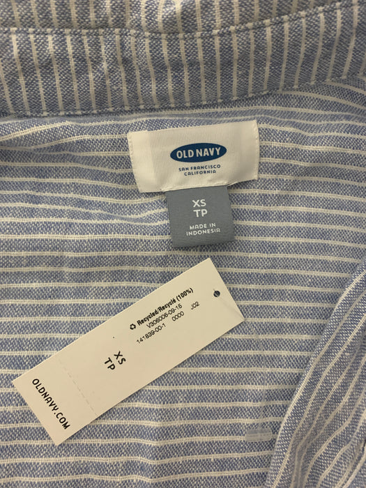 Old Navy Woman's Long Cotton Shirt