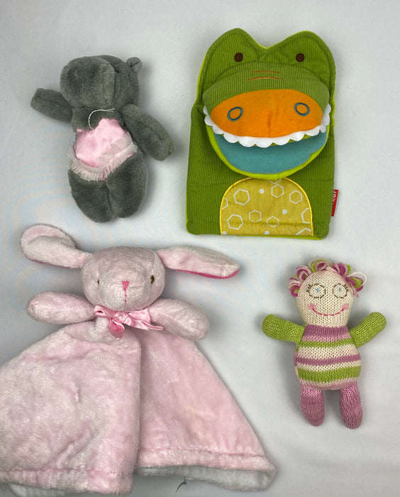 Plush Baby Toy Bundle