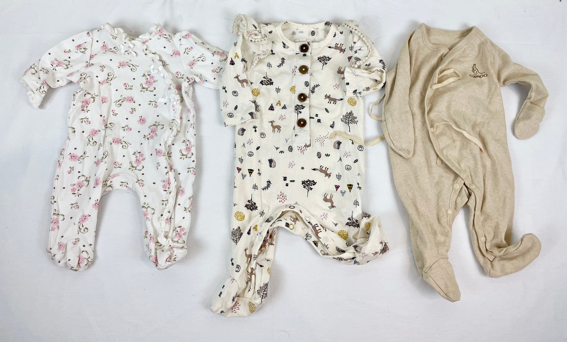 Jessica Simpson baby girl sleeper Bundle