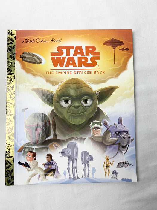 Little golden Star Wars book and puzzle