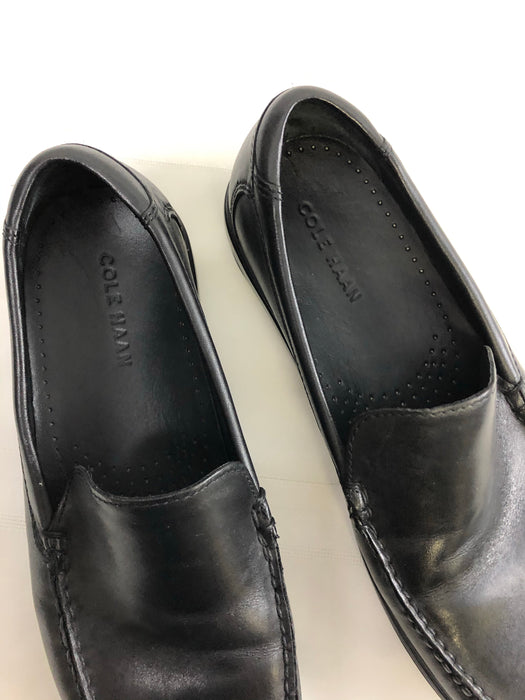 Mens Black Cole Haan Leather Loafers
