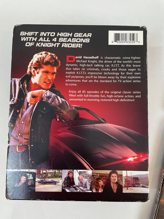 David Hasselhoff knight rider the complete series