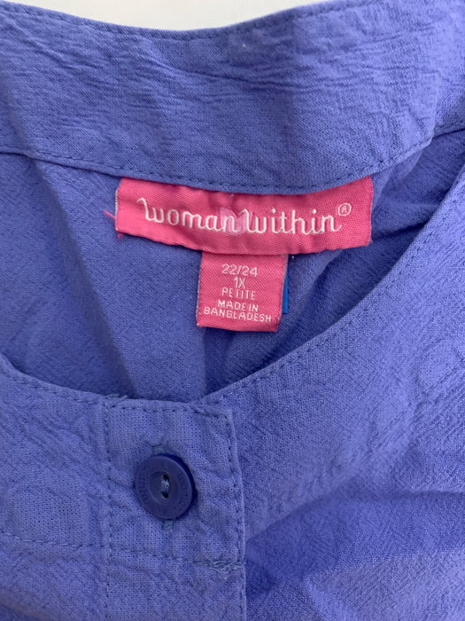 Woman Within Plus Size Shirt