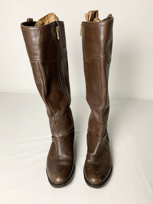 Ivanka Trump Womans  leather boots size 7m