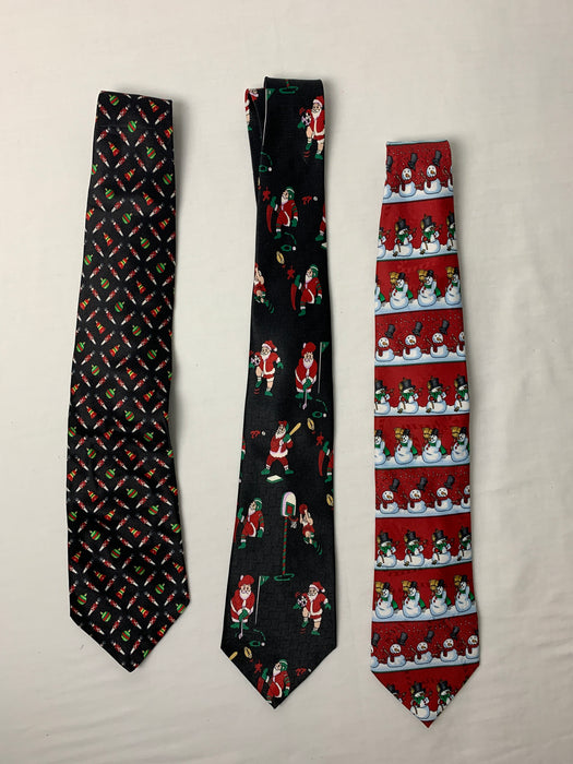 Men's Christmas ties