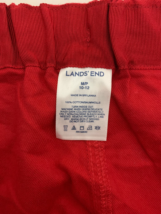 Lands' End Girl pajamas size 10/12